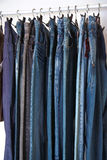Jeans at market Stock Photo