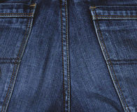 Jeans material. The image of a jeans material Stock Photo