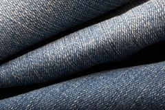 Jeans Material Stock Images
