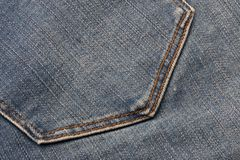 Jeans Material Royalty Free Stock Photos