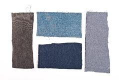 Jeans  materials  part Royalty Free Stock Images