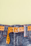 Jeans and Royalty Free Stock Photography