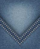 Jeans med vinkel Fotografering för Bildbyråer