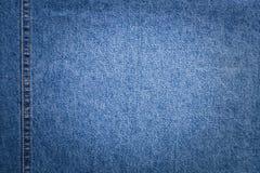 Jeans met Copyspace in Centrum op Vage Achtergrond Stock Fotografie