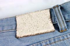 Jeans met markering Stock Foto