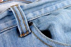 Jeans met zak Royalty-vrije Stock Foto