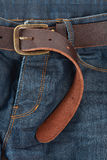 Jeans mit Gurt Lizenzfreies Stockfoto