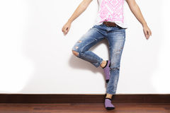 Jeans miteux photos stock