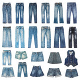 Jeans mode royalty free stock photo