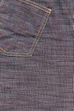 Jeans neri come priorità bassa Fotografie Stock Libere da Diritti
