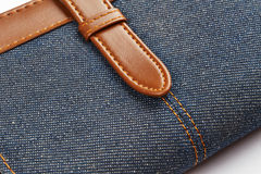 Jeans notebook Royalty Free Stock Photography