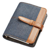Jeans notebook Royalty Free Stock Photos