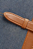 Jeans notebook Royalty Free Stock Photo