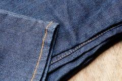 Jeans oder Denim Stockfotografie