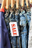 Jeans Outlet Stock Images