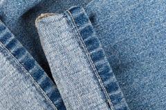 Jeans på isolerad bakgrund fotografering för bildbyråer