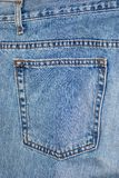 Jeans pant pocket Royalty Free Stock Image