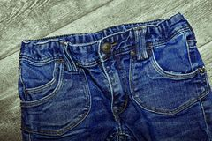 Jeans, Pants, Clothing, Blue Stock Image