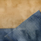 Jeans and paper. Stock Images