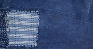 Jeans patchwork  background , denim patchwork . Jeans patchwork  background ,blue denim patchwork Stock Photos