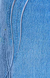 Jeans with pattern Royalty Free Stock Image