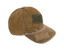 Jeans peaked cap Stock Photography