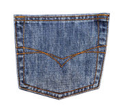 Jeans pocket Royalty Free Stock Images