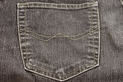 Jeans with pocket Stock Photography