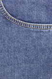 Jeans Pocket. Royalty Free Stock Photos
