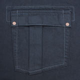 Jeans pocket. As a background Stock Photography