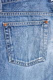 Jeans pocket Stock Photo