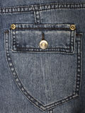 Jeans pocket as a background Royalty Free Stock Images