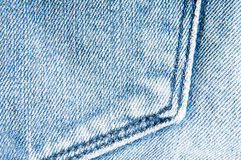 Jeans pocket background stock photography