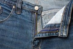 Jeans pocket Stock Photo