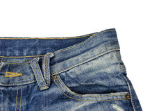 Jeans pocket. Stock Photos