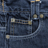 Jeans pocket. Stock Images
