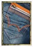 Jeans pocket Stock Images
