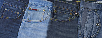Jeans pockets Royalty Free Stock Photography