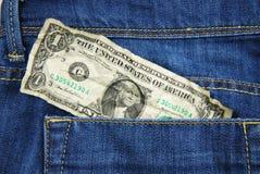 Jeans posket Stockfotografie