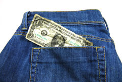 Jeans posket Lizenzfreie Stockbilder
