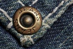 Jeans rivet Stock Images