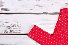 Jeans rouges de mode de filles de l'adolescence Photo stock