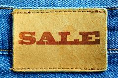 Jeans sale Royalty Free Stock Photo