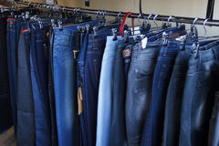 Jeans on sale Stock Photo