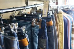 Jeans on sale Stock Photography