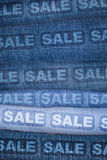 Jeans Sale Royalty Free Stock Image