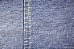 Jeans seam Royalty Free Stock Images