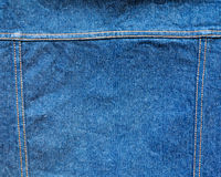 Jeans with seam for backgorund Royalty Free Stock Photo