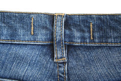 Jeans. The seam. The background. 4 Royalty Free Stock Image