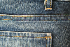 Jeans. The seam. The background. 5 Stock Photography